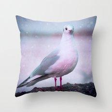 SONGS OF A BIRD I Throw Pillow