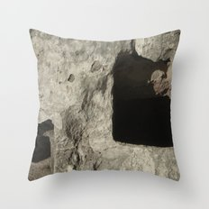 View Of The Tombs Throw Pillow