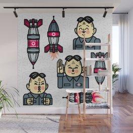 Kim Jong Un Rockets Wall Mural