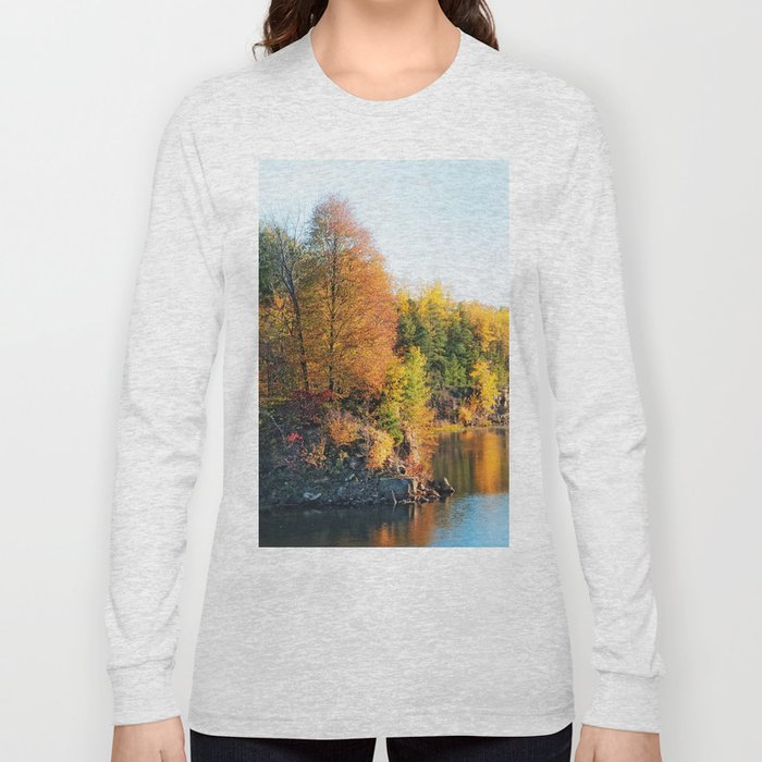 Changing Color Long Sleeve T-shirt