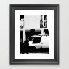 I follow you in the street, sometimes. 5 Framed Art Print