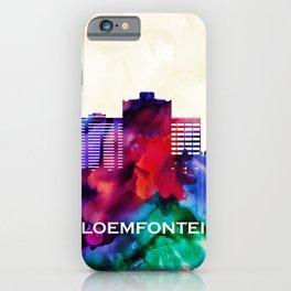 Bloemfontein Skyline iPhone Case