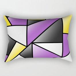 NB (pattern) Rectangular Pillow