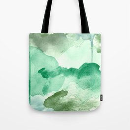 Meadow Pool Abstract Tote Bag
