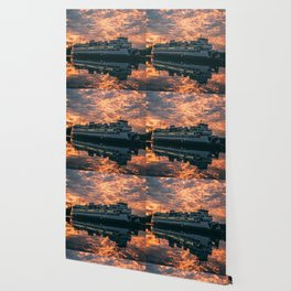 Friday Harbor Ferry Wallpaper