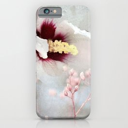 She's A Floral Lady iPhone Case