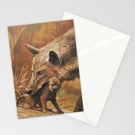 In bocca al Lupo. Stationery Cards