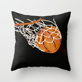 Ball is life Throw Pillow