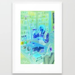 The Alchemist's Hideaway Framed Art Print