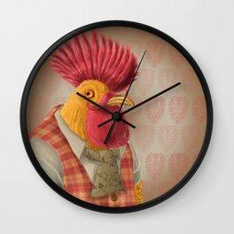 Punx Not Dead Wall Clock