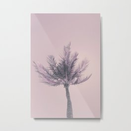 Its Better In The Bahamas Palm Tree Metal Print