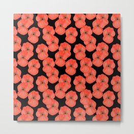Open Poppies  Metal Print