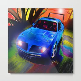 Daytona Charger Metal Print