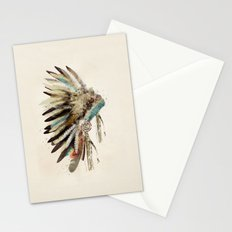 headdress Stationery Cards