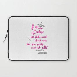 Do you exist at all?   Infernal Devices Laptop Sleeve