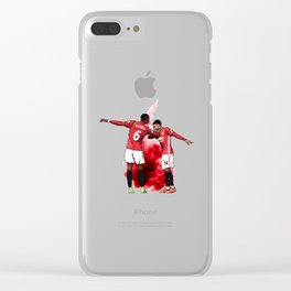 Pogba And Lingard Dab Clear iPhone Case