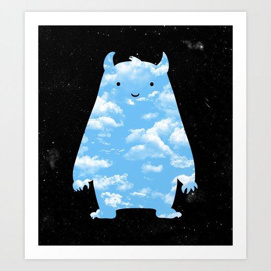 Mr. Sky Art Print