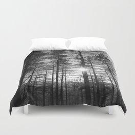 Winter Pine Forest 1 Duvet Cover