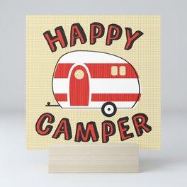 Happy Camper Mini Art Print