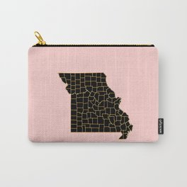 Minnesota map Carry-All Pouch