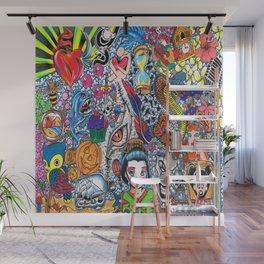 129 Inspirations Wall Mural
