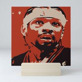 "Iverson ""The Answer"" Mini Art Print"