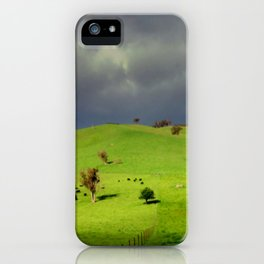 Following the fence Line! iPhone Case