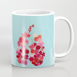 Simply Breathe - Lungs For Whitney Coffee Mug