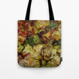 Fading Flowers Of Autumn Tote Bag