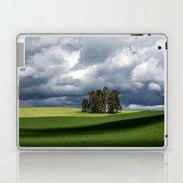 Tree Group in Green Field Laptop & iPad Skin