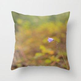 True Blue Bell 1 Throw Pillow