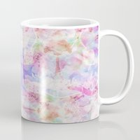 transparent Mugs featuring TRANSPARENT VEILS by INA FineArt