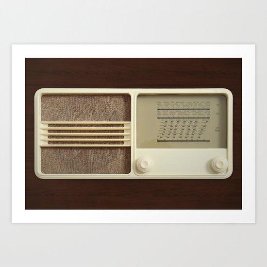 Vintage Sounds Art Print