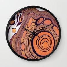 Suminagashi 07 Wall Clock