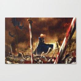 fate stay night battlegrounds Canvas Print