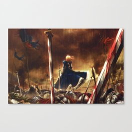 fate stay night battlegrounds Canvas Print