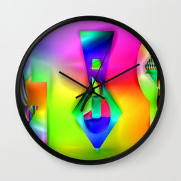 Artist's tools ... Wall Clock