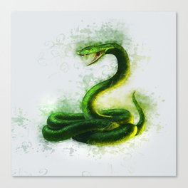 Snake Cobra Canvas Print