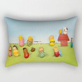 Real Peanuts Rectangular Pillow