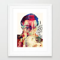 dali Framed Art Prints featuring DALI by Art By MOP$