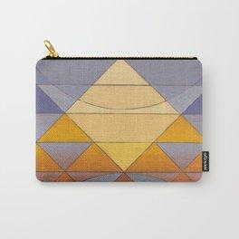 Pyramid Sun Mauve Purple Carry-All Pouch