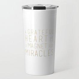 GRATEFUL HEART Travel Mug