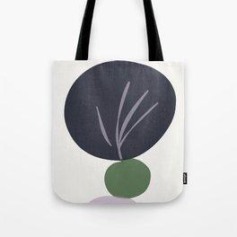 zen garden stones with leaf imprint Tote Bag