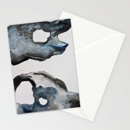 Sea Stones - Watercolor Stationery Cards
