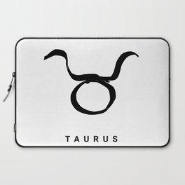 KIROVAIR ASTROLOGICAL SIGNS TAURUS #astrology #kirovair #symbol #minimalism #horoscope #stier #home Laptop Sleeve