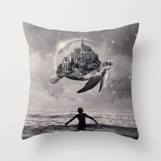 Moments of Bliss Throw Pillow