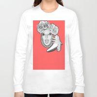 monet Long Sleeve T-shirts featuring FRIDA MONET by Mark Mayr