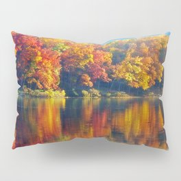 Autumn Colors at Lake Killarney Pillow Sham