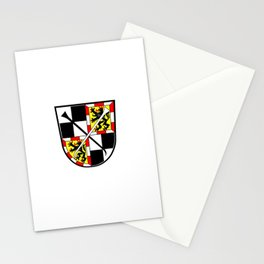 flag of Bayreuth Stationery Cards