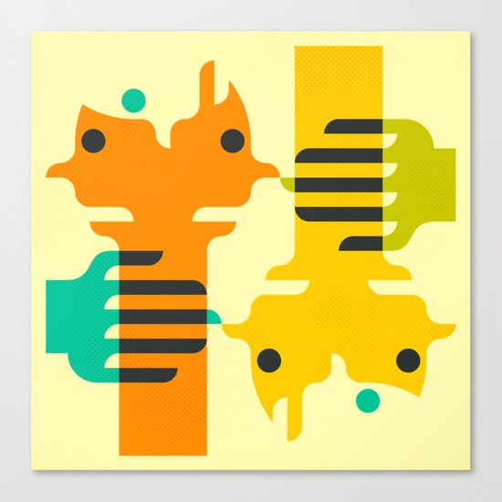 CLOSER2ME Canvas Print
